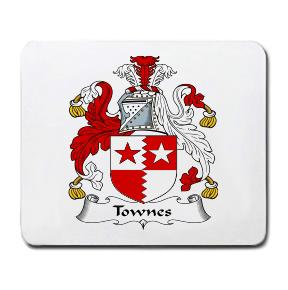 Townes Coat of Arms Mouse Pad