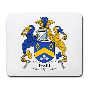 Traill Coat of Arms Mouse Pad