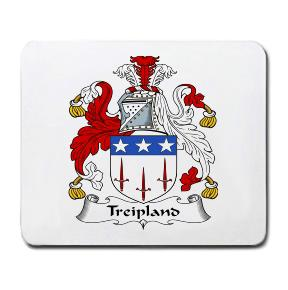 Treipland Coat of Arms Mouse Pad