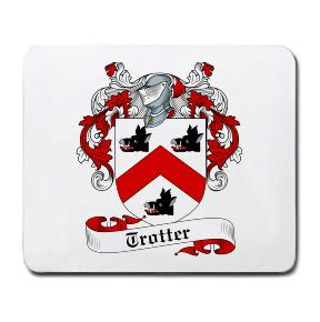 Trotter Coat of Arms Mouse Pad