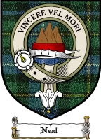 Neal Clan Badge / Tartan FREE preview