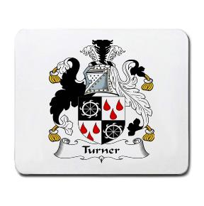 Turner Coat of Arms Mouse Pad