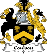 Coulson Family Crest / Coulson Coat of Arms JPG Download
