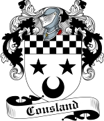 Cousland Family Crest / Cousland Coat of Arms JPG Download