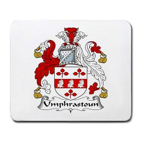 Umphrastoun Coat of Arms Mouse Pad