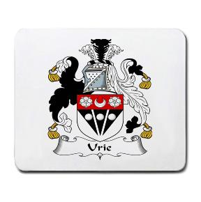 Urie Coat of Arms Mouse Pad