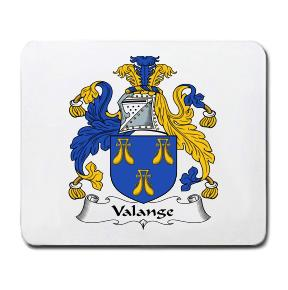 Valange Coat of Arms Mouse Pad