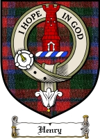 Henry Clan Badge / Tartan FREE preview