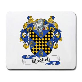 Waddell Coat of Arms Mouse Pad