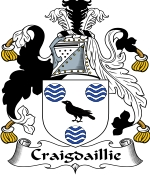 Craigdaillie Family Crest / Craigdaillie Coat of Arms JPG Download