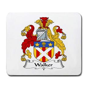 Walker Coat of Arms Mouse Pad