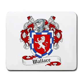 Wallace Coat of Arms Mouse Pad