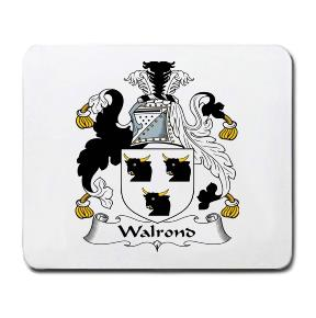 Walrond Coat of Arms Mouse Pad