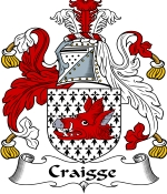 Craigge Family Crest / Craigge Coat of Arms JPG Download