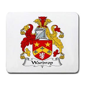 Wardrop Coat of Arms Mouse Pad