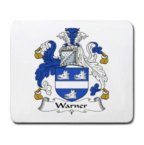 Warner Coat of Arms Mouse Pad