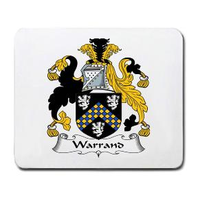 Warrand Coat of Arms Mouse Pad