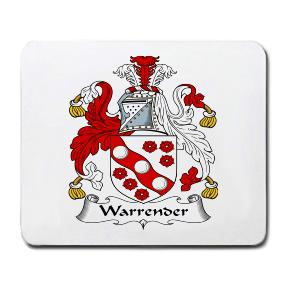Warrender Coat of Arms Mouse Pad