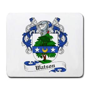 Watson Coat of Arms Mouse Pad