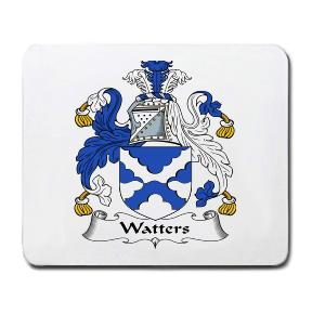 Watters Coat of Arms Mouse Pad