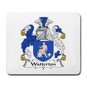 Watterton Coat of Arms Mouse Pad