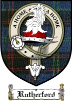 Rutherford Clan Badge / Tartan FREE preview
