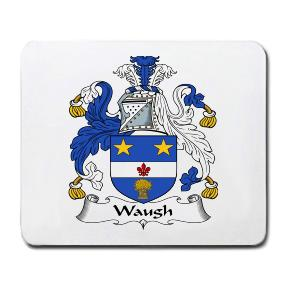 Waugh Coat of Arms Mouse Pad