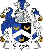 Craigie Family Crest / Craigie Coat of Arms JPG Download