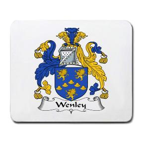 Wenley Coat of Arms Mouse Pad