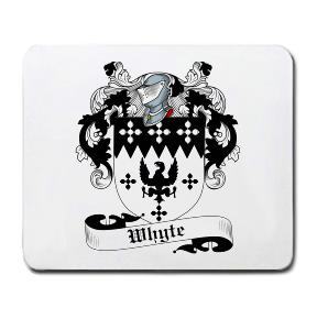 Whyte Coat of Arms Mouse Pad