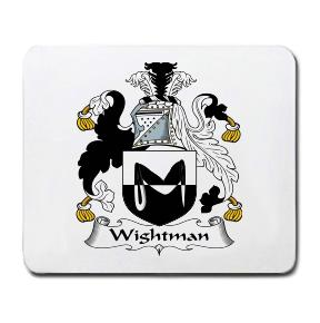 Wightman Coat of Arms Mouse Pad