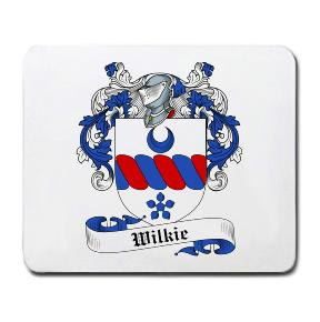 Wilkie Coat of Arms Mouse Pad