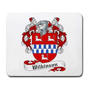 Wilkinson Coat of Arms Mouse Pad