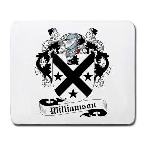 Williamson Coat of Arms Mouse Pad