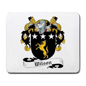 Wilson Coat of Arms Mouse Pad