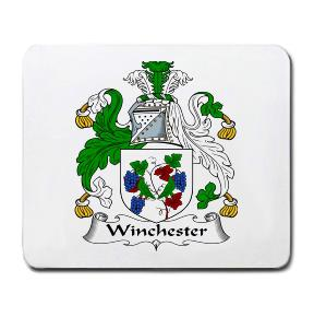 Winchester Coat of Arms Mouse Pad