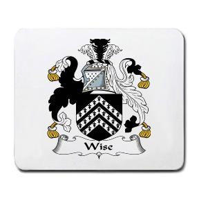 Wise Coat of Arms Mouse Pad