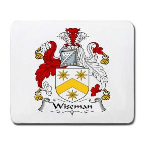 Wiseman Coat of Arms Mouse Pad