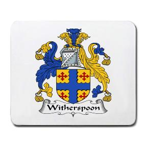 Witherspoon Coat of Arms Mouse Pad