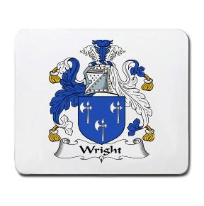 Wright Coat of Arms Mouse Pad