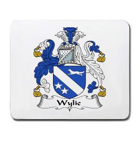Wylie Coat of Arms Mouse Pad