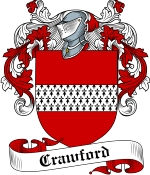 Crawford Family Crest / Crawford Coat of Arms JPG Download