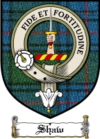Shaw Clan Badge / Tartan FREE preview