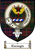 Carnegie Clan Badge / Tartan FREE preview