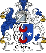 Criery Family Crest / Criery Coat of Arms JPG Download
