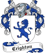 Crighton Family Crest / Crighton Coat of Arms JPG Download