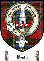 Beath Clan Badge / Tartan FREE preview