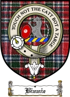 Binnie Clan Badge / Tartan FREE preview