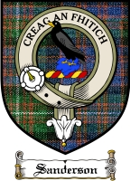 Sanderson Clan Badge / Tartan FREE preview