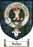 Inches Clan Badge / Tartan FREE preview